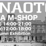 h.NAOTO 大阪M-SHOP開催  2020. 8/22-8/23